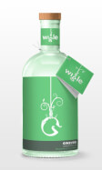 Leading Jenever Gin Label Logo: Wigle Ginever Gin