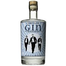 Best London Dry Gin Label Logo: Corsair Artisan Gin