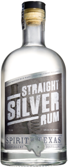 Top Silver Rum Brand Logo: Spirit of Texas Straight