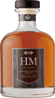 Leading Scotch Brand Logo: HM the King Scotch Whiskey