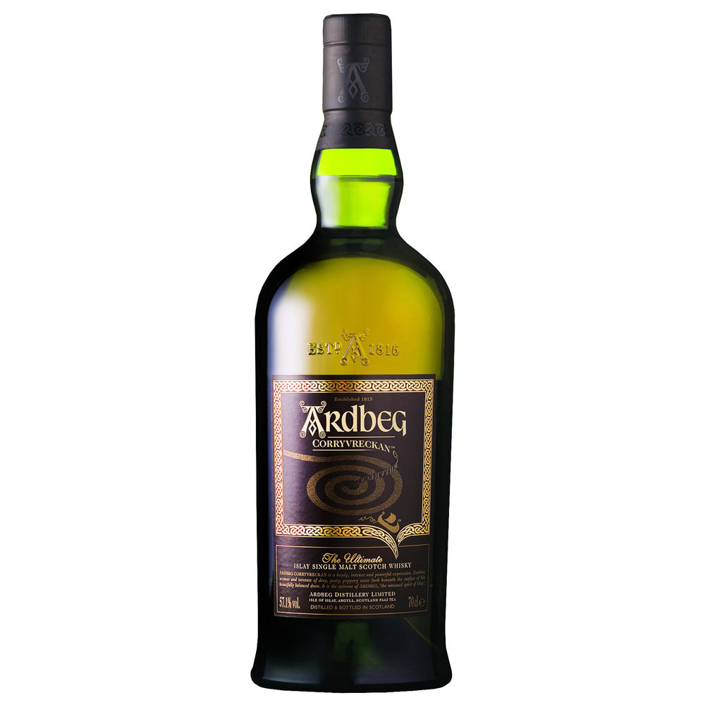 Best Single Malt Scotch Brand Logo: Ardbeg Corryvreckan
