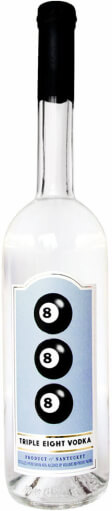 Best Grain Vodka Label Logo: Triple Eight Vodka