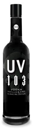 Leading Grain Vodka Label Logo: UV 103pf Vodka