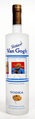 Best Grain Vodka Label Logo: Vincent Van Gogh Classic Vodka