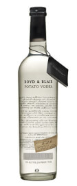Leading Potato Vodka Brand Logo: Boyd & Blair Potato Vodka