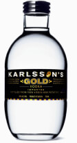 Best Potato Vodka Brand Logo: Karlsson's Gold Potato Vodka